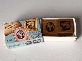 火柴盒小木印章
