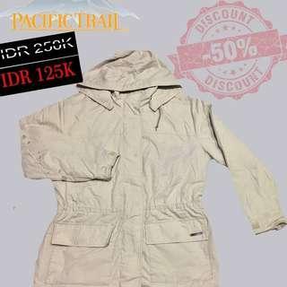 Jaket second original pasific trail jaket gunung jaket parka
