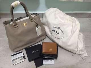 Prada Bag and wallet