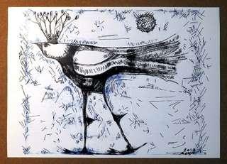 Original artwork. Drawing. Modern art.