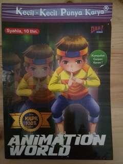 "KKPK ""Animation World"" preloved"