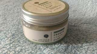 BIOTALK ORGANIK FRENCH GREEN CLAY MASK FOR OILY, ACNE PRONE