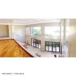Newly Renovated Modern Ayala Alabang House and Lot For Sale & Rent