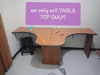 L shape table top