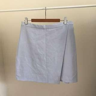 H&M Baby Blue Skirt