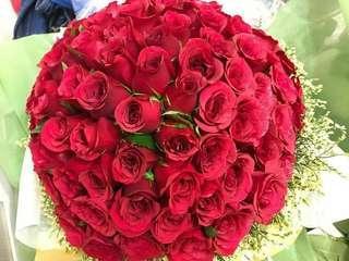 🚚 Valentine day fresh flower rose bouquet