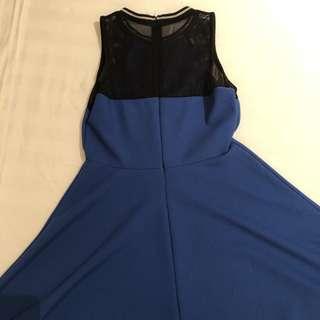 Brand New Black and Blue Dress