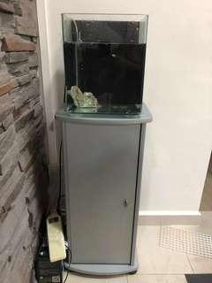 Small fish tank (overflow system)