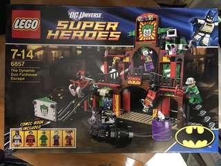 Lego 6857 batman 蝙蝠俠 小丑