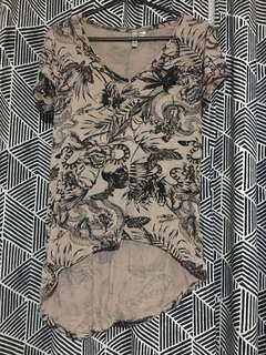 H&M print top