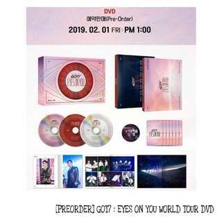 [PREORDER] GOT7 : EYES ON YOU WORLD TOUR DVD