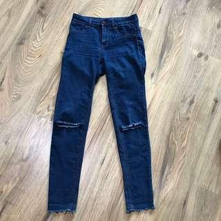 Pull&Bear Ripped Jegging Jeans