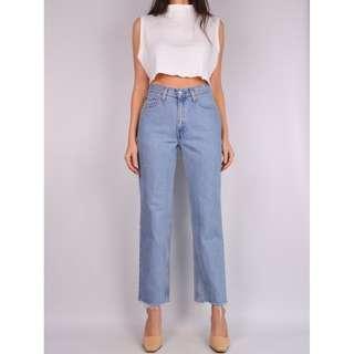 Vintage LEVI'S 512 Frayed Jeans