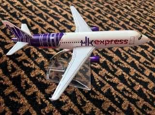 Die cast airplane aeroplane plane model HK express