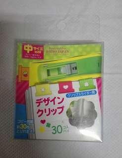 🚚 大創Daiso釘書夾(中,30入)
