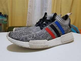 NMD Tricolor PK White Size 9.5