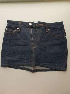 🚚 Reduced: A.P.C Denim Miniskirt XS