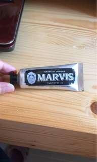 Marvis 意大利進口牙膏 25ml 甘草清熱