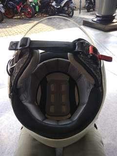 Helm bekas half face AGV blade original