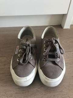 Superga suede sneakers