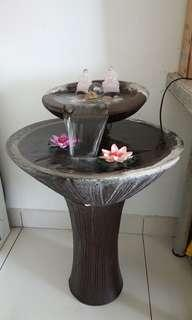 Water fountain / water feature / fengshui waterfall pond