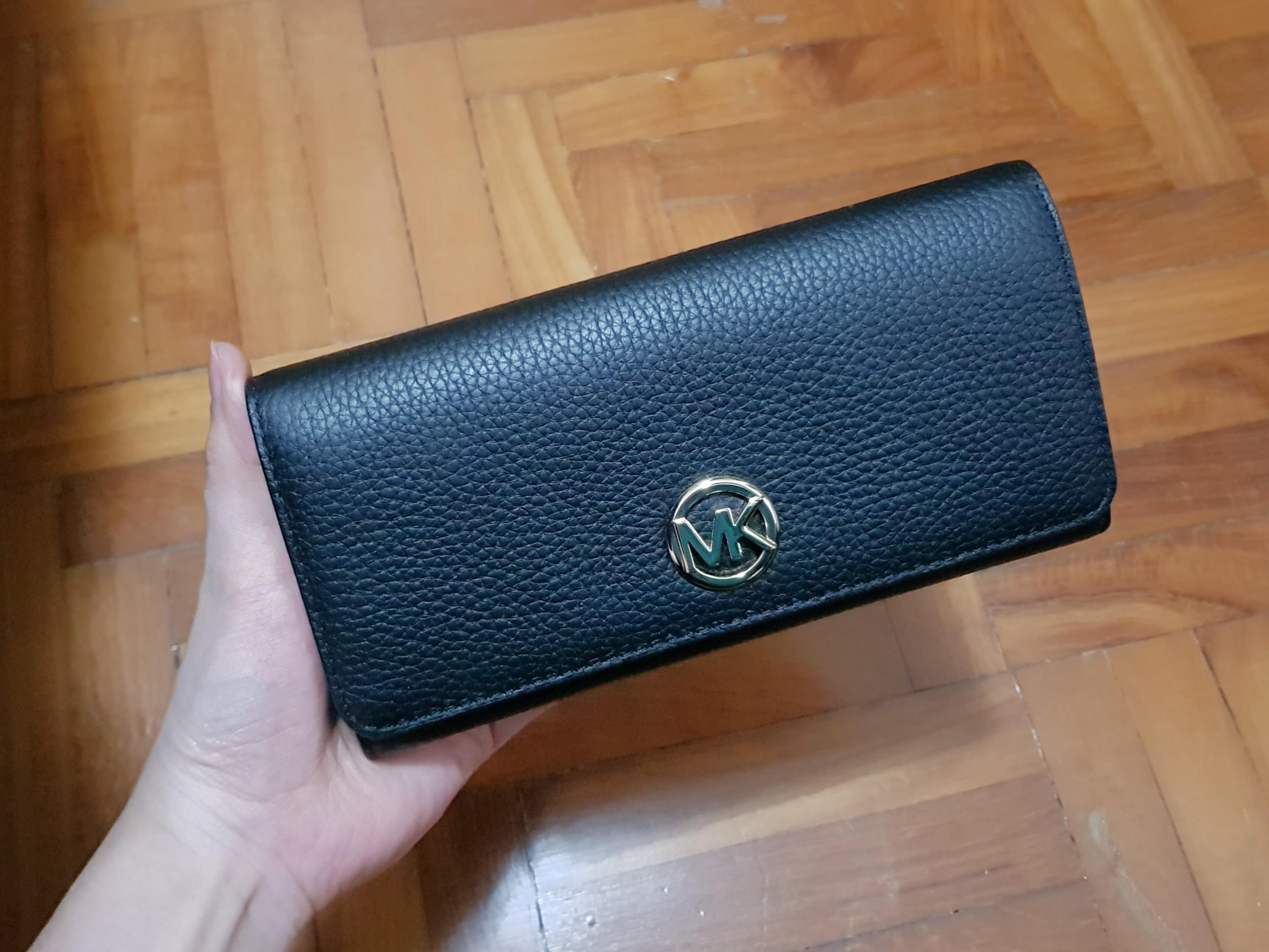 562c402937c4 163 ONLY. Michael Kors Fulton Flap Continental Long Wallet, Women's ...