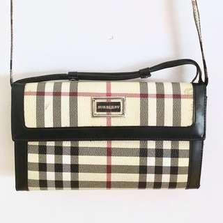 BURBERRY WALLET ON A STRAP
