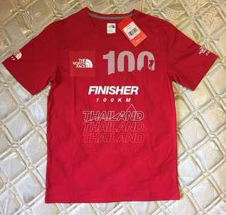 North face 100 finisher tee