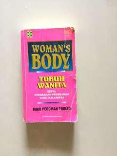 "#bersihbersih Buku ""Women's Body"""