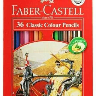 Pensil warna classic Faber castell 36 warna