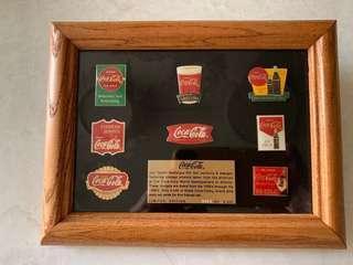 原裝可口可樂 pin set