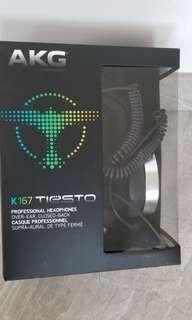 AKG K167 Tiesto headphones 99% new