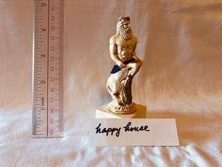 Greece man horse figure for