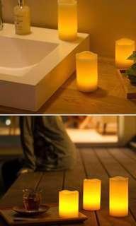 BNIB Romantic Flameless LED Candles