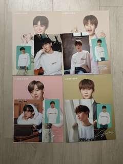 Wanna One SG sharing set