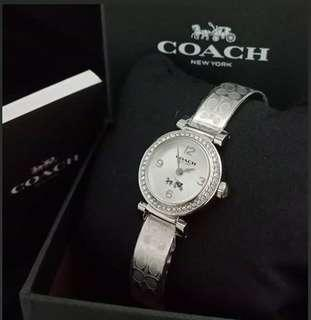 Original Coach Madison Signature Silver Stainless D 23MM