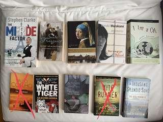 Various English Fictions/Books