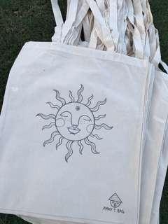 Handmade tote bags!