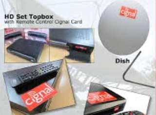 Cignal Prepaid High Definition Kit