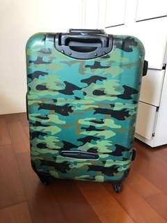 29-30吋 帥氣迷彩行李箱 四輪硬殼鋁框