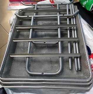 3-tier metal document trays