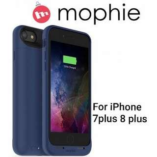 NEW MOPHIE JUICE PACK AIR - SLIM PROTECTIVE BATTERY CASE FOR APPLE IPHONE 7 plus BLUE Asking $60 obo  RETAIL VALUE:$98
