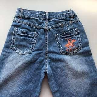 🚚 beverly hills polo club girls embroidered jeans