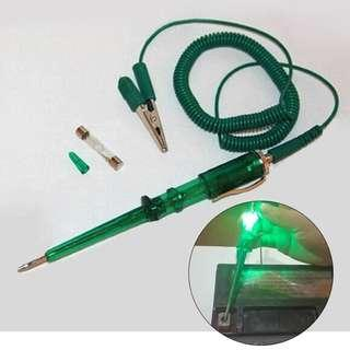 Auto Car Truck Motorcycle Ship Vehicle Circuit Voltage Tester Test Pencil Probe