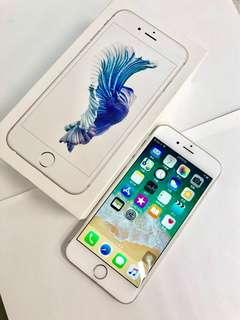 《只有一台》apple iPhone 6s 64G銀色