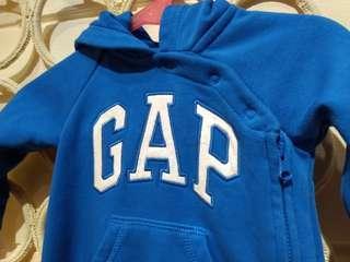 🚚 BabyGap 連身衣 有帽6-12m 70公分