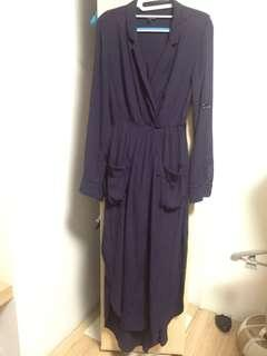 Maxi Navy dress from AUS