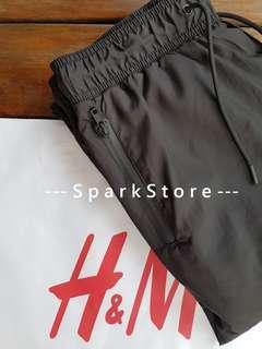 H&M Celana Joggers Parka Hitam