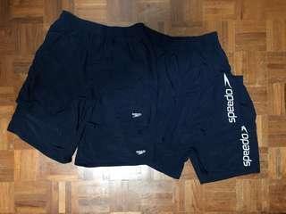 🚚 Speedo Navy Shorts / Boardshorts