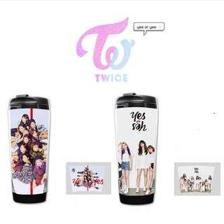 PREORDER - TWICE YES OR YES TUMBLER 380ML *each* exc.pos